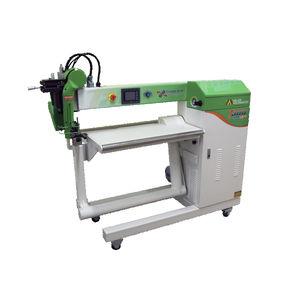 máquina de soldar de aire caliente / con calces calefactores / de moleta / AC