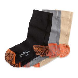 calcetín de trabajo / de algodón / de poliamida / de elastano