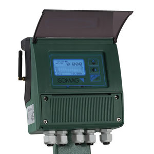 caudalímetro magnético / electromagnético / digital / para líquido