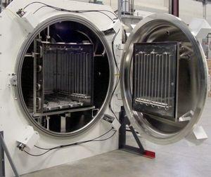 horno de carbonitruración