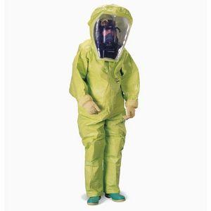 traje de trabajo / de protección química / de PVC