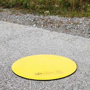 alfombra de contención / obturadora de imbornal / de material compuesto / de vinilo