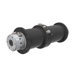 racor giratorio para aceite / de pasos múltiples / hidráulico / de alta presión