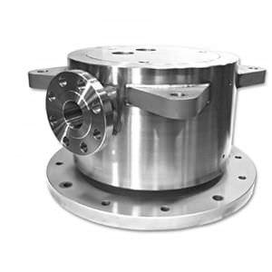 racor giratorio para aceite / para aire / para fluido refrigerante / de 2 pasos