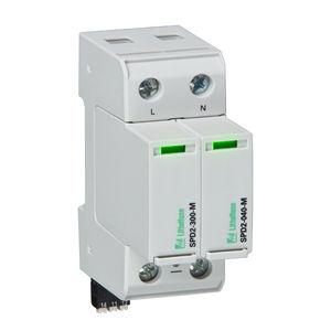 protector de sobretensión clase II / de tipo 1 / multipolar / para alimentación eléctrica