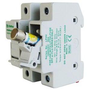 portafusible en riel DIN / compacto / pequeño / para aplicaciones fotovoltaicas
