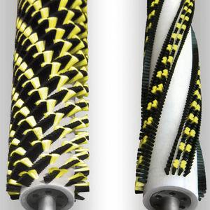 rollo cepillo de lubricación / cilíndrico / cilíndrico espiral / de plástico