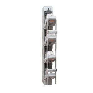 interruptor seccionador de fusible / con fusible NH / 4 polos / vertical