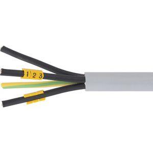 clip de cables / de plástico / de marca