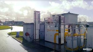 planta de cogeneración con motor de combustión