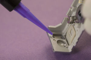 cola de endurecedor doble / epoxi / para plástico / para cerámica