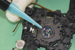 sistema de polimerización por UV