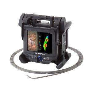 videoscopio flexible / portátil / articulado / visualizador LCD