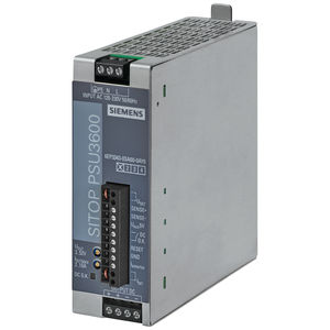 alimentación eléctrica AC/DC / estabilizada / monofásica / en riel DIN