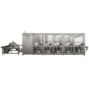 máquina para brochetas de hortalizas