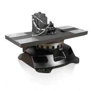 mesa giratoria accionada por motor / vertical / flexible