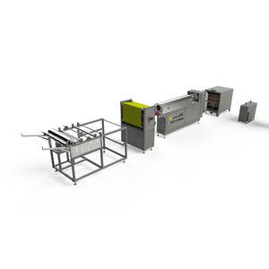 línea de producción por fusión-soplado