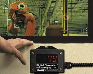 monitor de caudal para aire