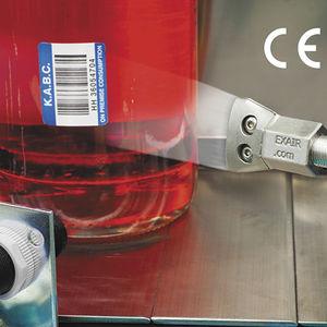 boquilla de limpieza / de refrigeración / para secado / de aire