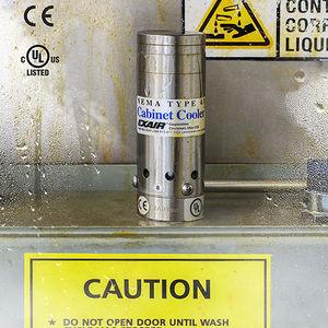 refrigerador de aire / para armario eléctrico / de acero inoxidable / IP66