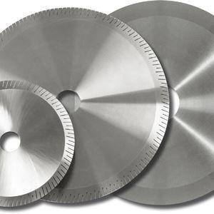 hoja de sierra circular / para tronzado / de diamante / para acero