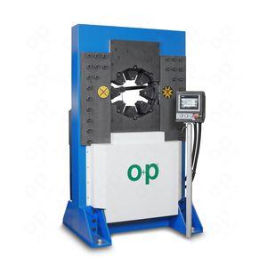 engastadora de tubos flexibles / automática / hidráulica / controlada por PLC