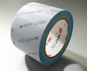 cinta adhesiva doble cara / de fibra acrílica / para cristales / de película
