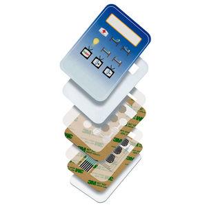cinta adhesiva doble cara / de fibra acrílica / de poliéster / para aplicaciones eléctricas