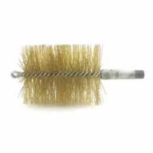 cepillo cilíndrico espiral / con cerdas retorcidas / de limpieza / de acero inoxidable