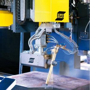 cabezal de corte plasma / 3D / para corte en chaflán