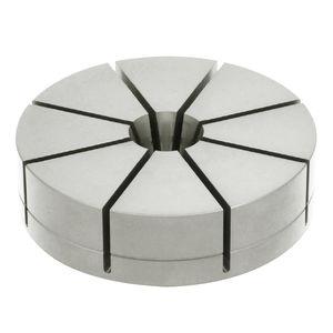 mandril de sujeción de piezas de aluminio