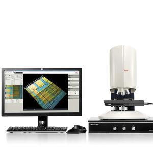 microscopio de metrología
