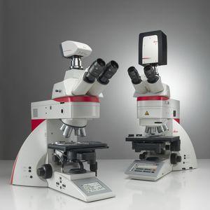 microscopio de laboratorio / digital / recto / de fluorescencia