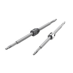 husillo de bolas de acero inoxidable / de precisión / laminado / en miniatura