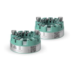 transmisor de temperatura en cabeza de sonda / 4 hilos / de resistencia / HART