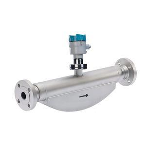 caudalímetro de efecto Coriolis / para líquido / digital / compacto