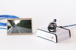 espejo retrovisor con cámara de marcha atrás