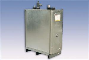 depósito de almacenaje / de combustible / de polietileno / vertical