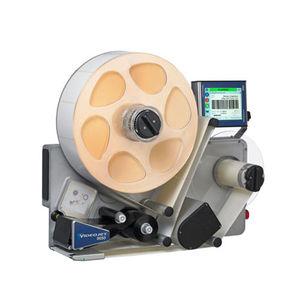 máquina de impresión-colocación de etiquetas de transferencia térmica / térmica directa / monocroma / para cartón