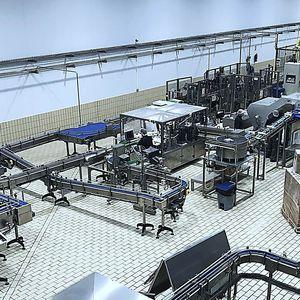 línea de embalaje completa para productos a granel