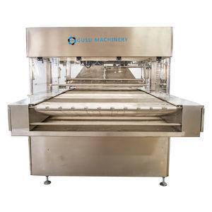 máquina de recubrimiento de chocolate
