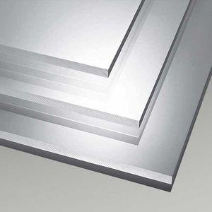 chapa de aluminio
