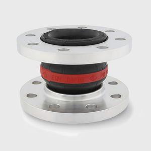 compensador de dilatación de caucho / redondo / de brida / para agua