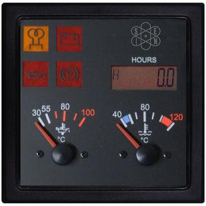 panel indicador de temperatura