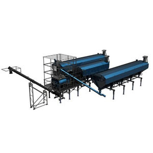silo con agitador / de materiales secos / para mortero autonivelante / de cemento