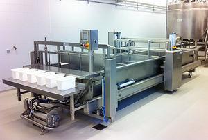 línea de producción de queso