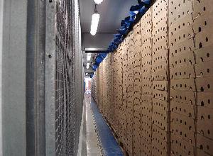 túnel de refrigeración