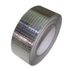 cinta adhesiva reforzada / de aluminio / para la industria / para aplicaciones eléctricas