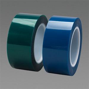 cinta adhesiva resistente a altas temperaturas / de poliéster / para la industria / para aplicaciones eléctricas