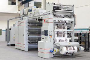 prensa flexográfica stack